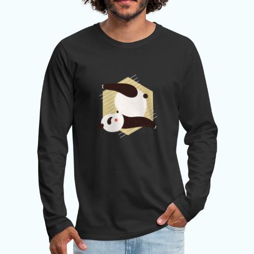 Yoga Panda - Men's Premium Longsleeve Shirt