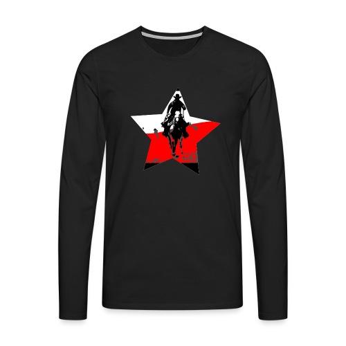 konno po polsku - Koszulka męska Premium z długim rękawem