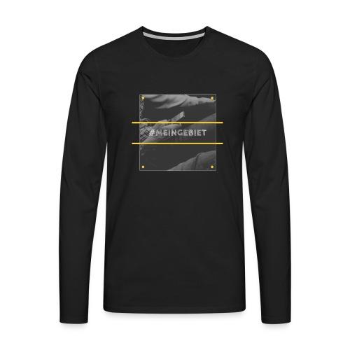 MeinGebiet - Männer Premium Langarmshirt