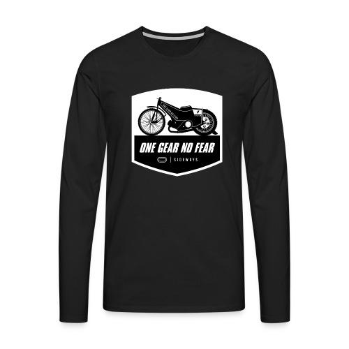 Speedway Bahnsport - Männer Premium Langarmshirt
