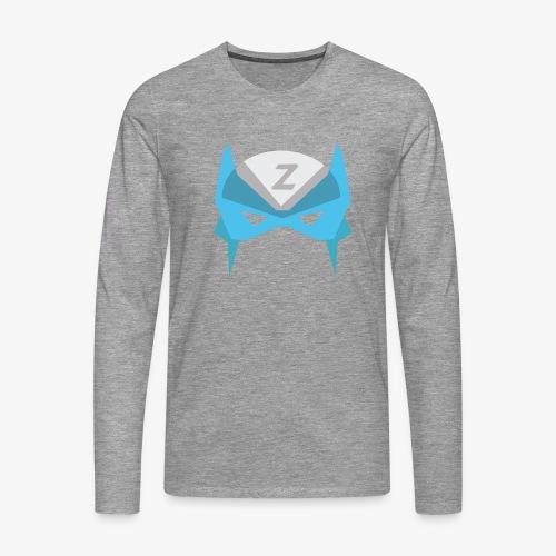 MASK 3 SUPER HERO - T-shirt manches longues Premium Homme