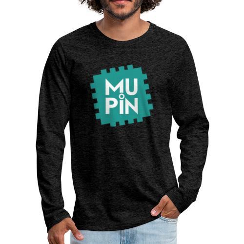Logo Mupin quadrato - Maglietta Premium a manica lunga da uomo