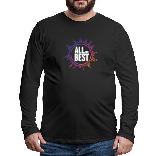 All The Best Logo - Men's Premium Longsleeve Shirt