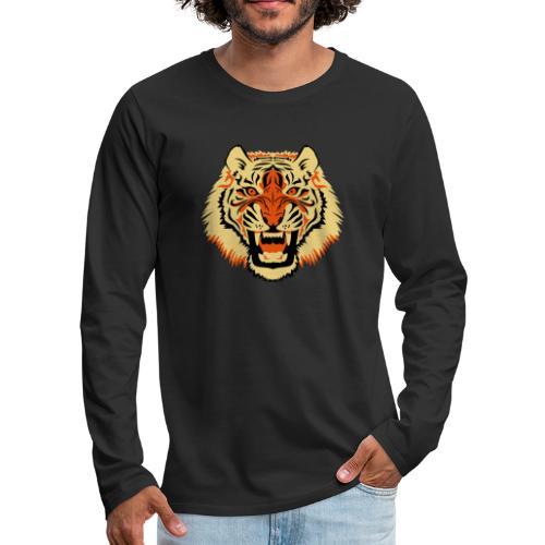 Tiger - Mannen Premium shirt met lange mouwen