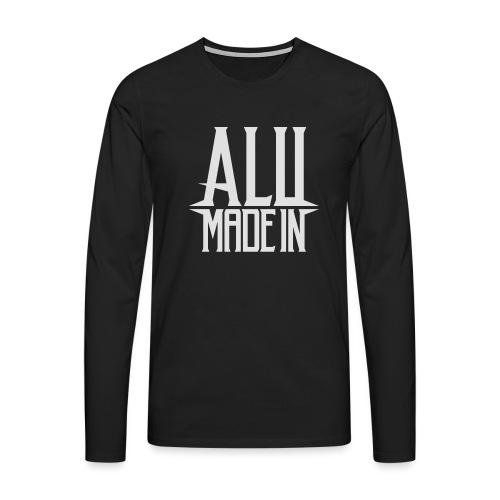logo_alumadein_vecto_blan - T-shirt manches longues Premium Homme