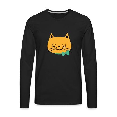 cat - T-shirt manches longues Premium Homme