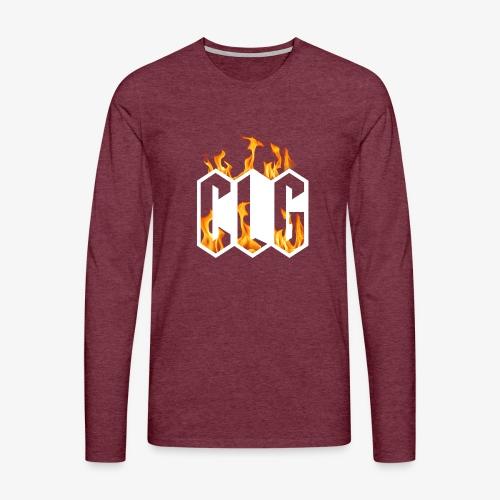 CLG DESIGN - T-shirt manches longues Premium Homme
