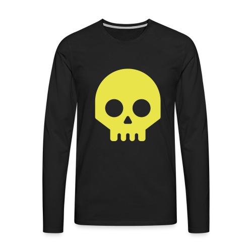 Vikisijästä tekijäksi - Miesten premium pitkähihainen t-paita