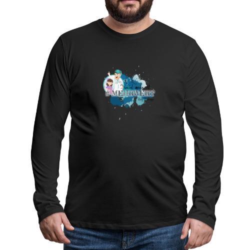 Mehrwert mit Richtig Schwanger - Männer Premium Langarmshirt
