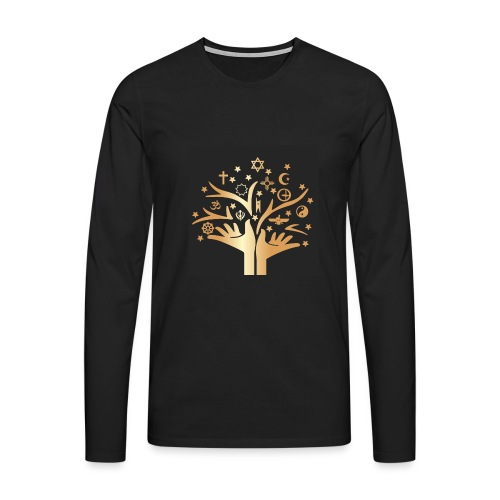 Religion for All - Men's Premium Longsleeve Shirt
