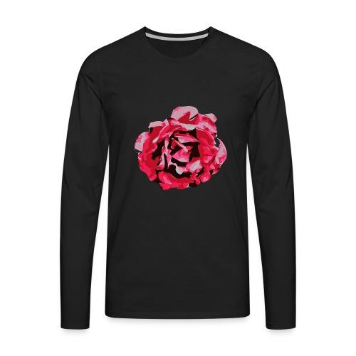 rose - Männer Premium Langarmshirt