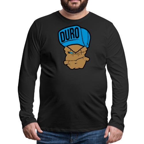 Duro Mono - Camiseta de manga larga premium hombre