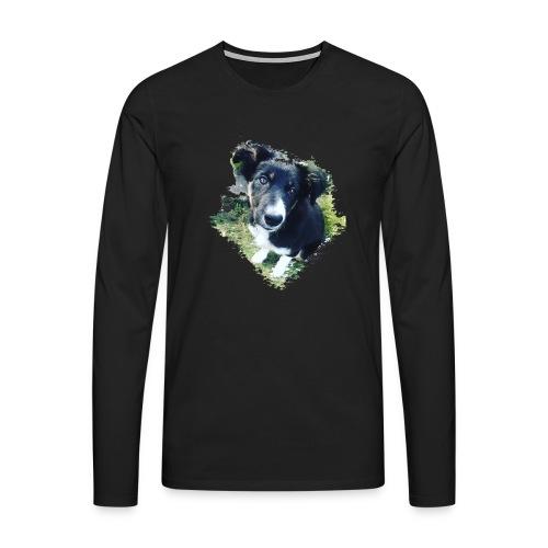 colliegermanshepherdpup - Men's Premium Longsleeve Shirt