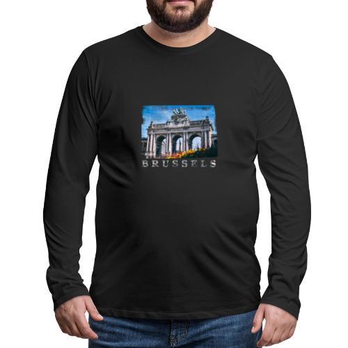 Brussels   Jubelpark - Mannen Premium shirt met lange mouwen