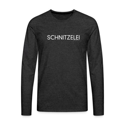 Schnitzelei EDM - Männer Premium Langarmshirt