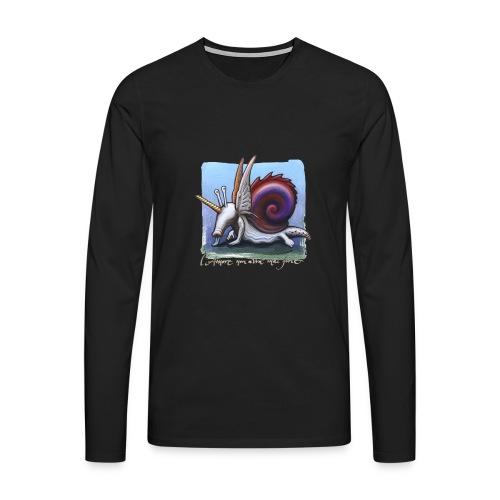 Unichiocciolo - Maglietta Premium a manica lunga da uomo