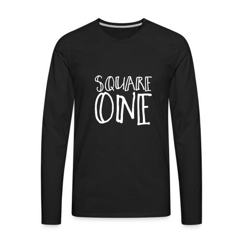 Square One - Men's Premium Longsleeve Shirt