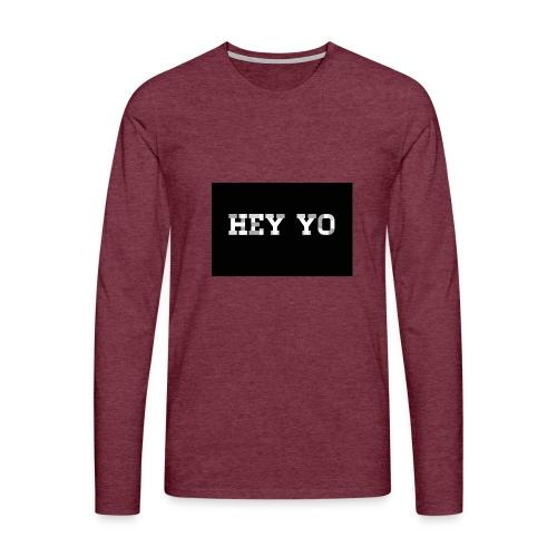 Hey yo - T-shirt manches longues Premium Homme