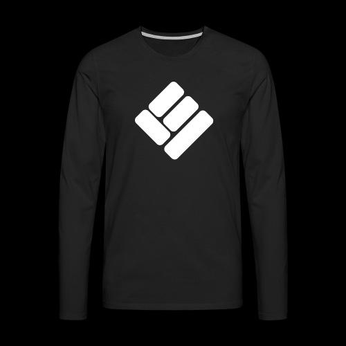 Loose Ends White - Men's Premium Longsleeve Shirt