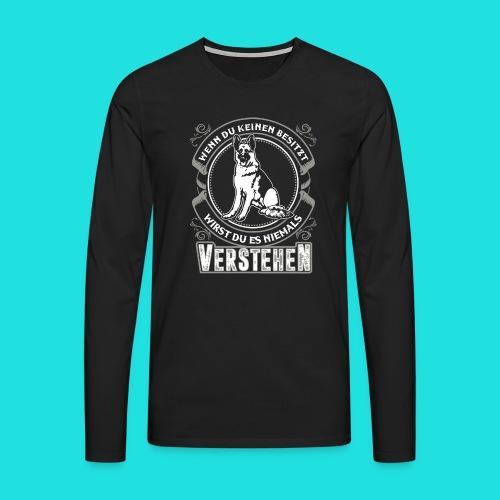 Deutscher Schäferhund - Männer Premium Langarmshirt