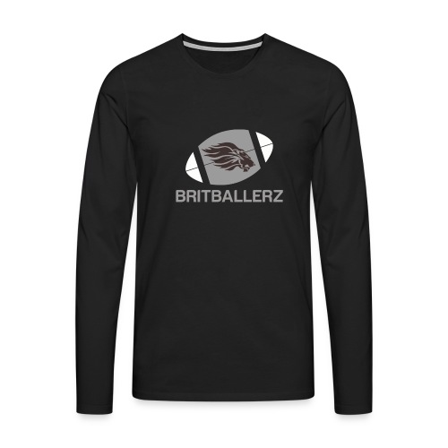 Britballersz logo - Men's Premium Longsleeve Shirt