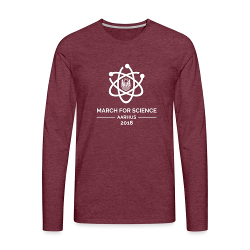 March for Science Aarhus 2018 - Men's Premium Longsleeve Shirt