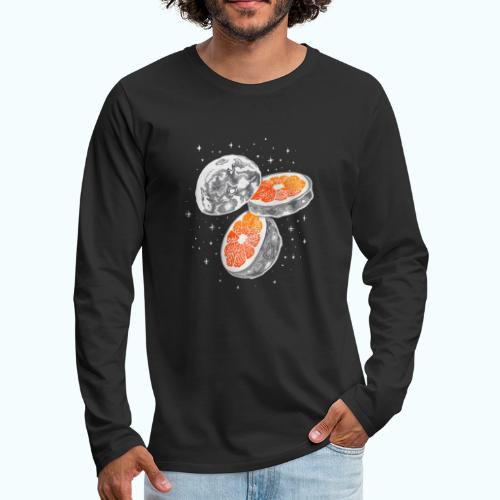 Moon orange - Men's Premium Longsleeve Shirt