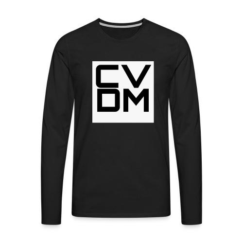 Cover Chevvitadimmerda #CVDM - Maglietta Premium a manica lunga da uomo