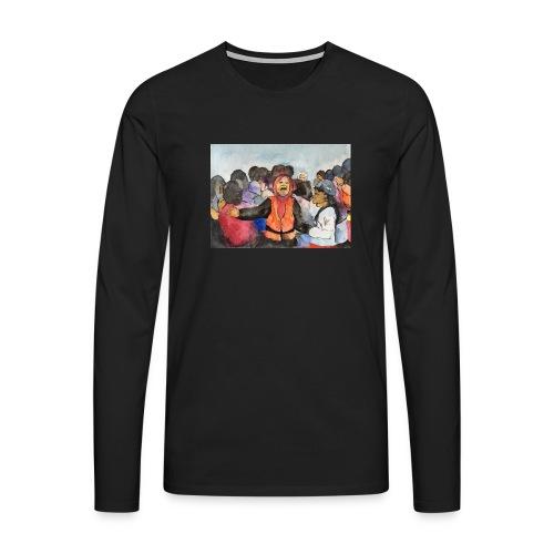Lezvos22 - Långärmad premium-T-shirt herr