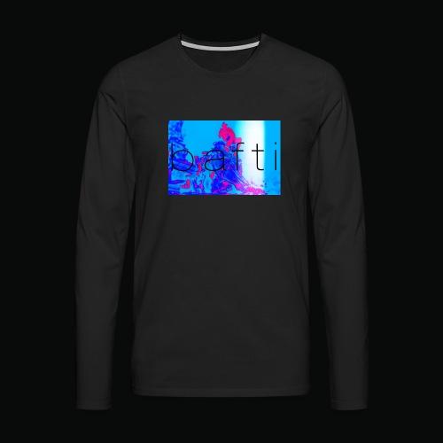 bafti lsd tee - Herre premium T-shirt med lange ærmer