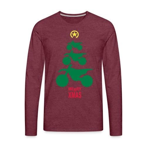 Merry Christmas - Frohe Weihnachten - Men's Premium Longsleeve Shirt