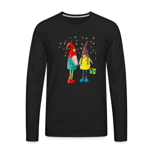 Weihnachtswichteln - Männer Premium Langarmshirt