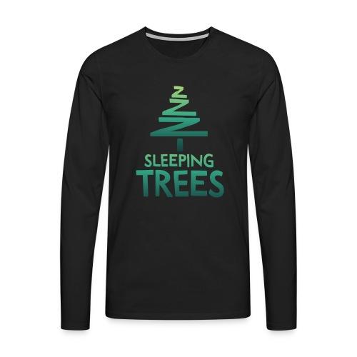 SleepingTrees Colour LightBackground png - Men's Premium Longsleeve Shirt