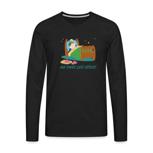 Personnage endormi - T-shirt manches longues Premium Homme