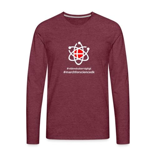 March for Science Danmark - Men's Premium Longsleeve Shirt