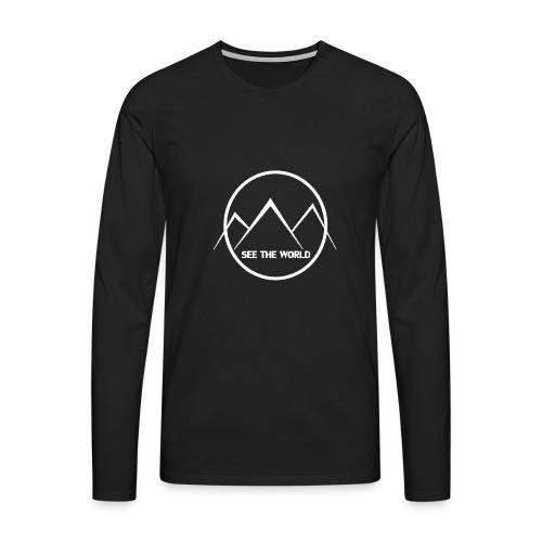 See The World knows - Men's Premium Longsleeve Shirt