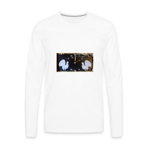 Metsot - Miesten premium pitkähihainen t-paita
