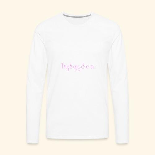 Nybygden - Långärmad premium-T-shirt herr