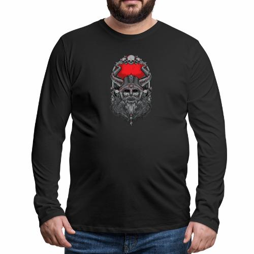 Viking - Miesten premium pitkähihainen t-paita