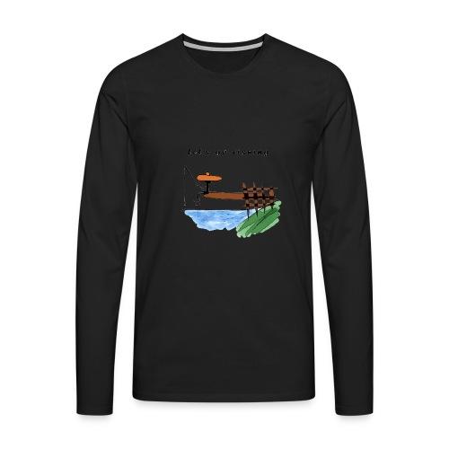 Let's go fishing - Men's Premium Longsleeve Shirt