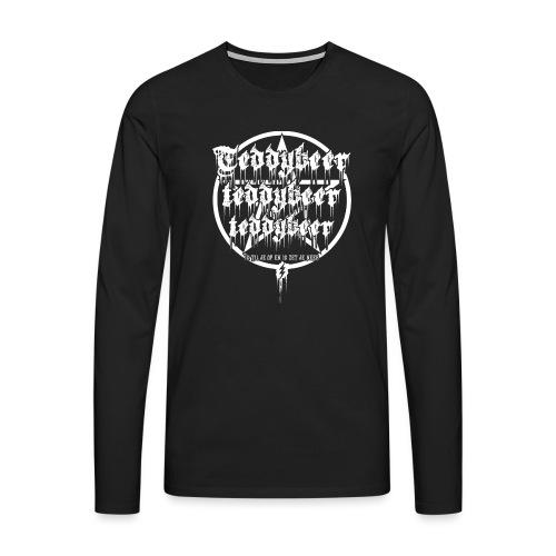 Teddybeer - Mannen Premium shirt met lange mouwen