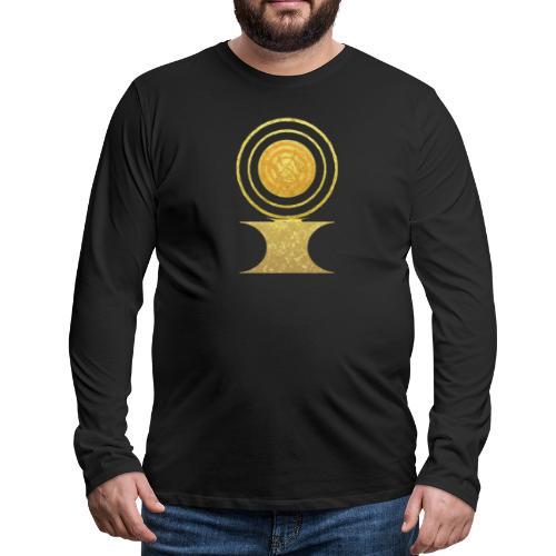 Native America Indianer Symbol Hopi ssl Sonne - Männer Premium Langarmshirt