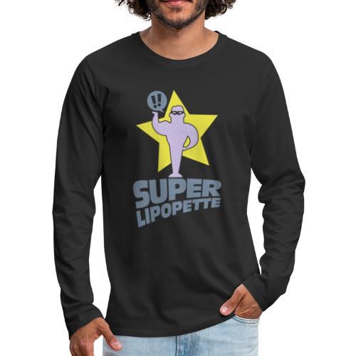 SUPER LIPOPETTE - T-shirt manches longues Premium Homme