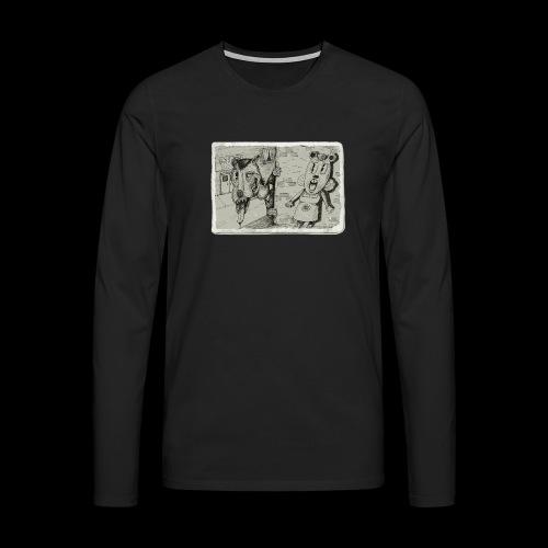 Take Out Techniques - Koszulka męska Premium z długim rękawem