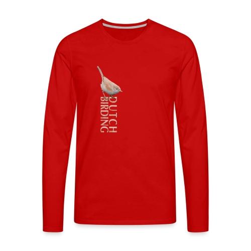 AWG T shirt - Mannen Premium shirt met lange mouwen
