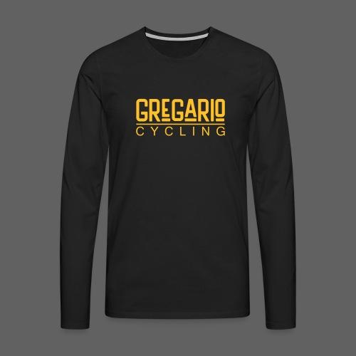 Gregario Cycling - Männer Premium Langarmshirt