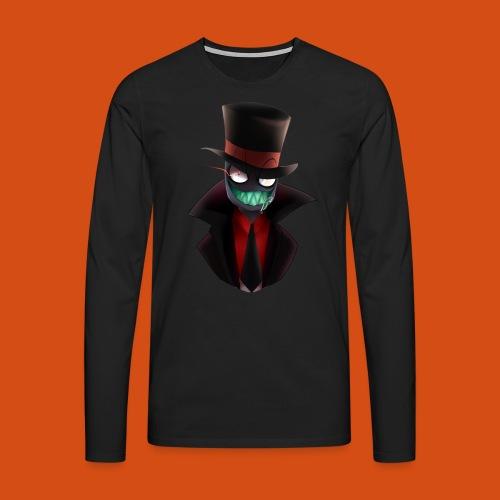the blackhat - Mannen Premium shirt met lange mouwen