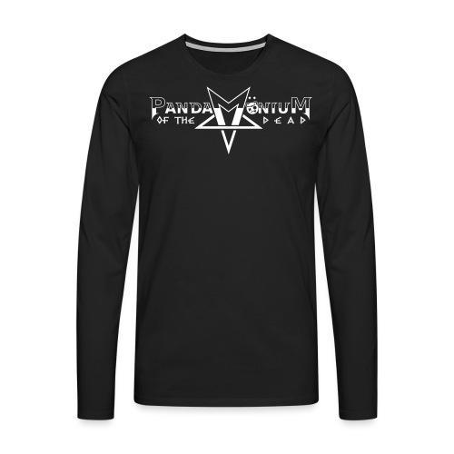 Deluxe Logo et Roi Panda - T-shirt manches longues Premium Homme