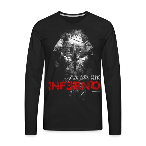 INFERNO   SAVE YOUR LIFE - Männer Premium Langarmshirt