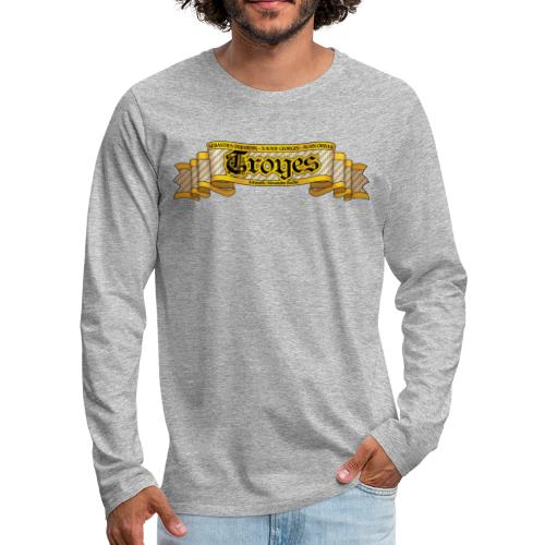 TROYES - T-shirt manches longues Premium Homme